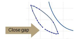 close gap segment