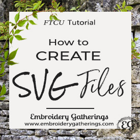 How to create SVG files in Floriani FTCU