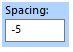 FTCU spacing box - negative