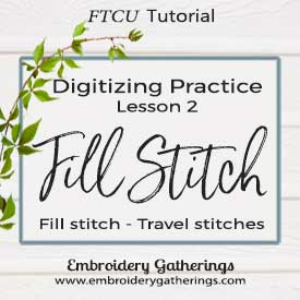 FTCU Digitizing Practice Lesson 2