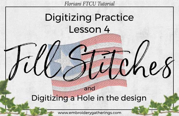 Floriani FTCU Digitizing Practice Lesson 4