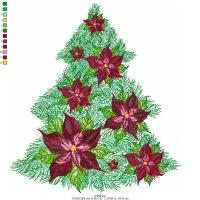 Christmas Tree, Free embroidery designs
