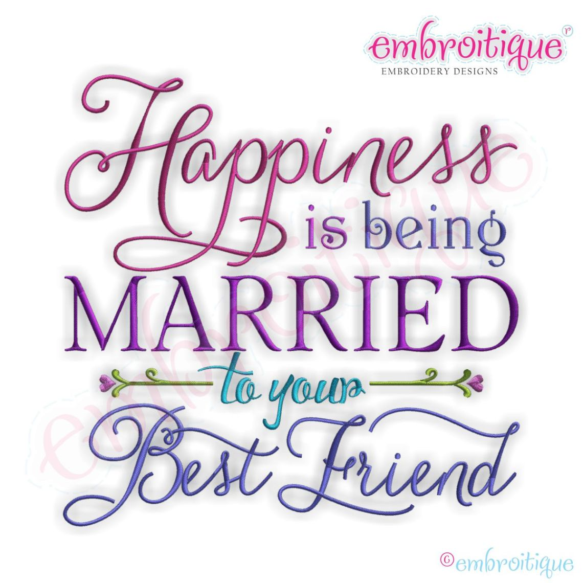 Download Words & Phrases :: Happiness is Being Married to Your Best ...