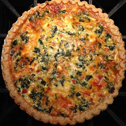 Posted a quiche recipe over on Allrecipes years ago, and just ran across it again. Hell of an ego boost!