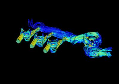 Modelling high pressure valve