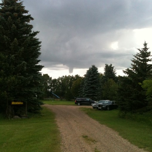 Funnel Cloud Above the Fort
