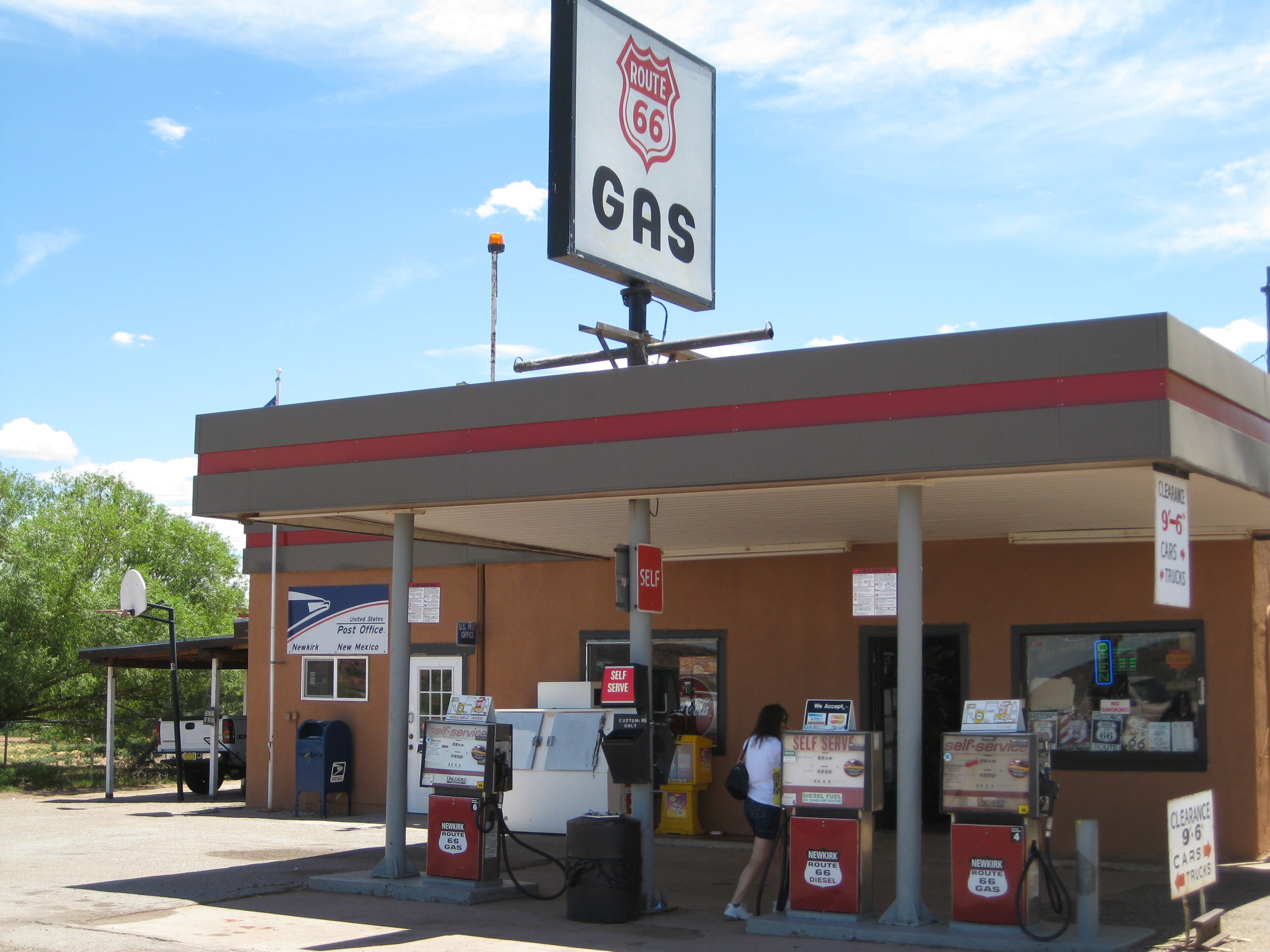 Gas Station Route 66 Gas Station