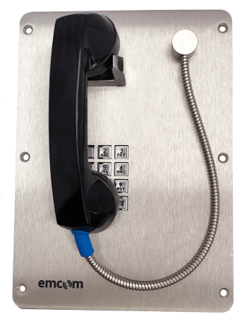 Handset Phone with Armored Cable