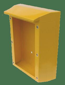 Emergency Call box with Drip Cap