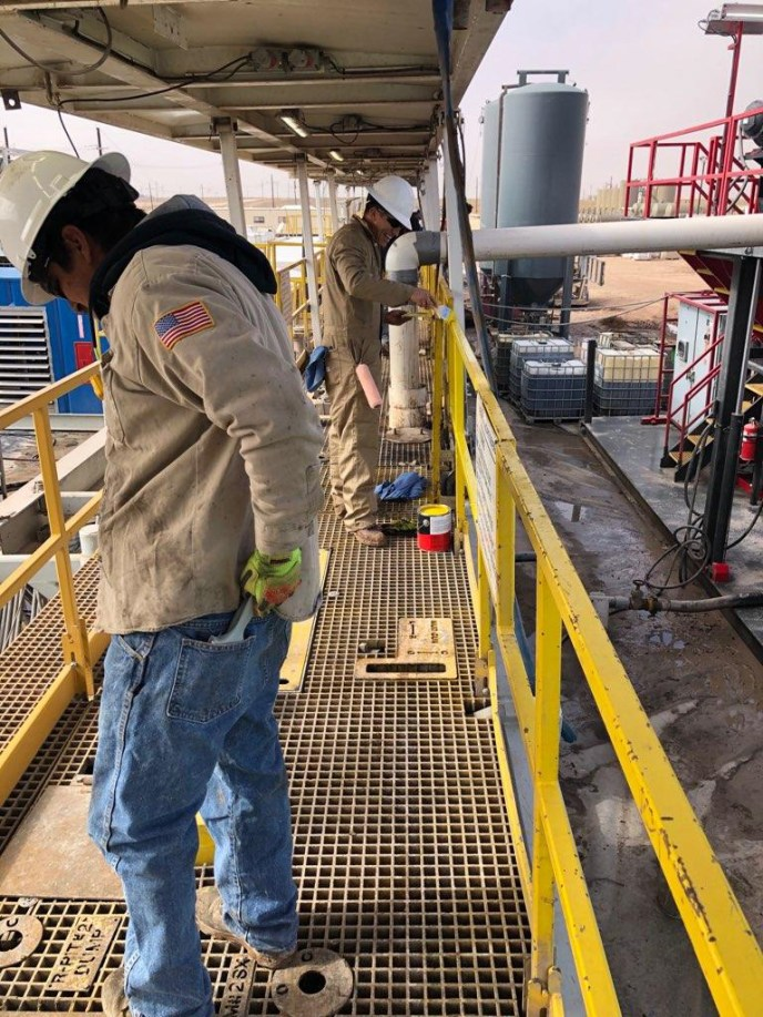 roustabout service, permian basin