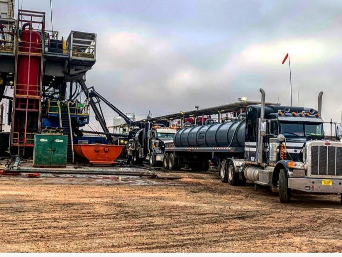 Emco vac trucks in the permian basin