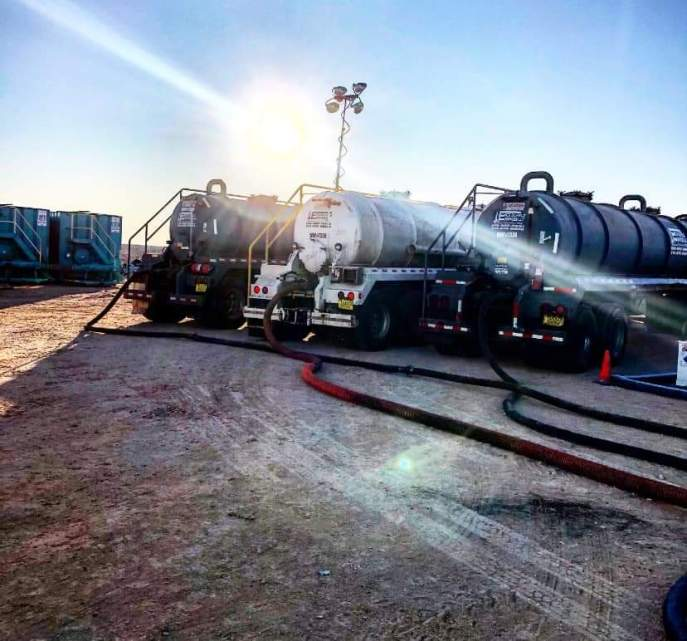 vac trucks in the permian