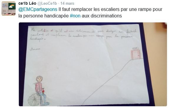 Discrimination CE1B Léo 4