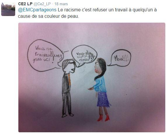 Racisme CE2 LP