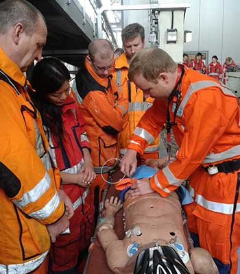 REBOA Training at London HEMS