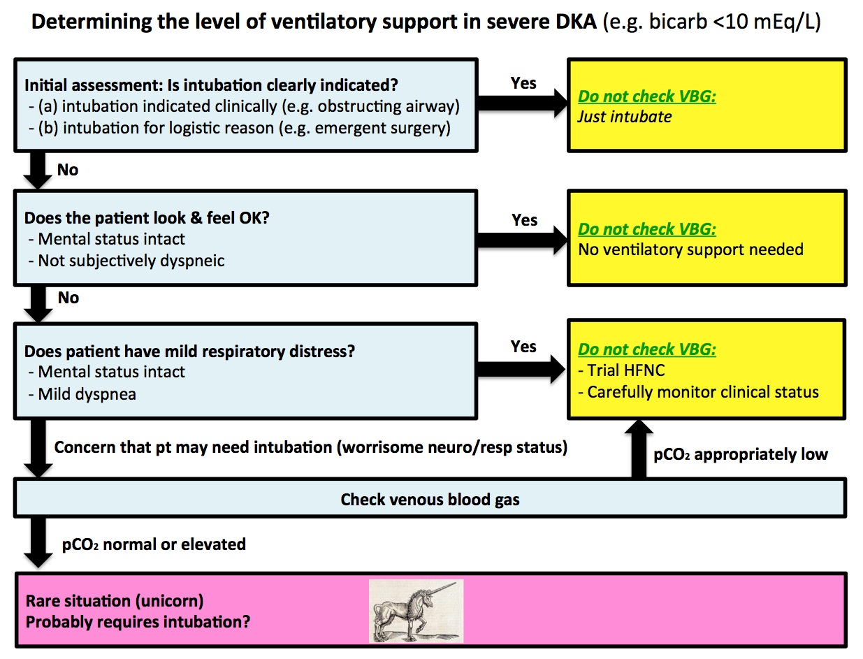 Blood gas measurements in DKA: Are we searching for a unicorn?