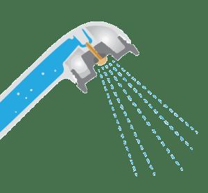 ShowerGreen Showerhead Illustration