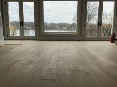 Extraordinary Select White Oak flooring in Manhasset - windows