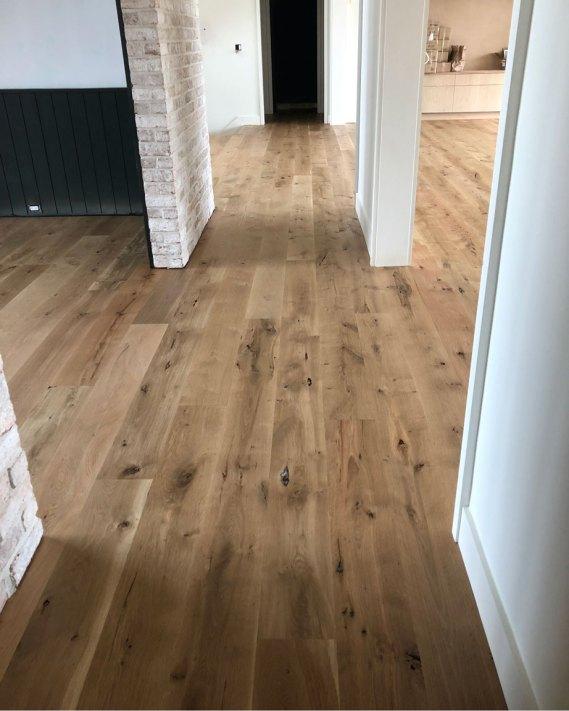 character grade white oak floor