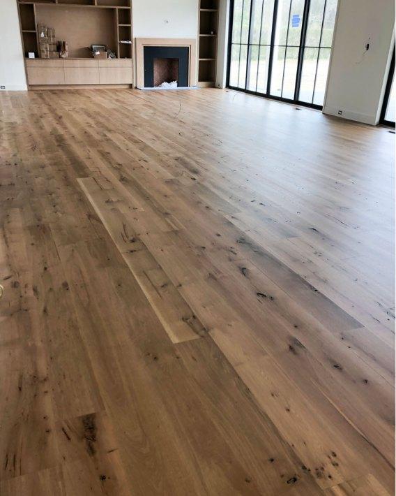 character grade white oak hardwood floor