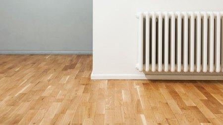 Hardwood Flooring Near Heater