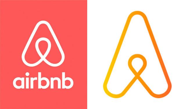Air BNB New logo copied logo comparison automation anywhere logo
