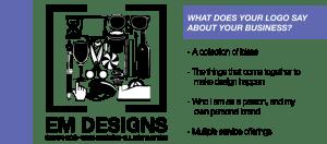 Em Designs Logo Design Sydney Graphic Designer