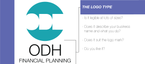 Em Designs ODH Financial planning Logo Design Sydney Graphic Designer