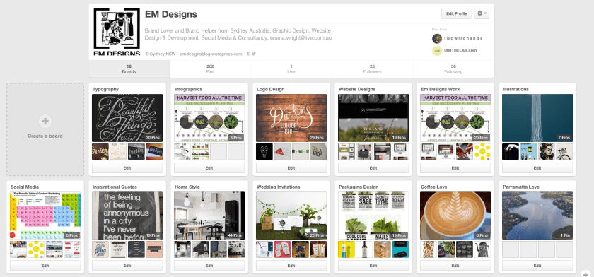 em designs pinterest inspiration board mood board gathering ideas design graphic design sydney