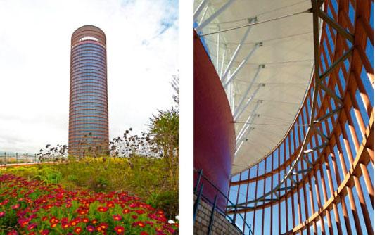 Hotusa - Torre Sevilla Pelli. @GCA ARQUITECTES