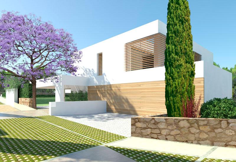 Residencial Bonanova, Mallorca - Colaboración con Jordi Marcé Arquitectes