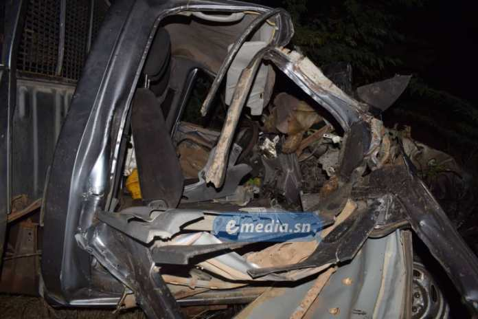Saint Louis- Un Mort dans un violent accident( Photos)