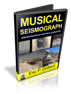 Musical Seismograph - Demonstration of the Tesla Converter by Eric Dollard