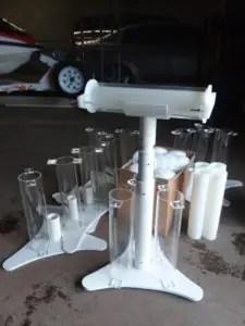 Lakhovsky Multiwave Oscillator (MWO) antenna stands