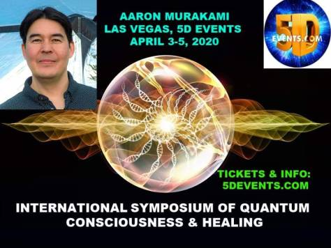 Aaron Murakami presenting at 5D Events April 2020