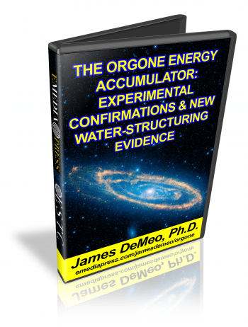 Orgone Energy Accumulator - Experimental Confirmations & New Water-Structuring Evidence