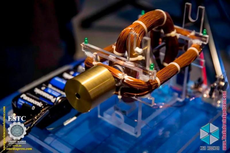 Bedini's Gravity Wave Space Flux Motor 8