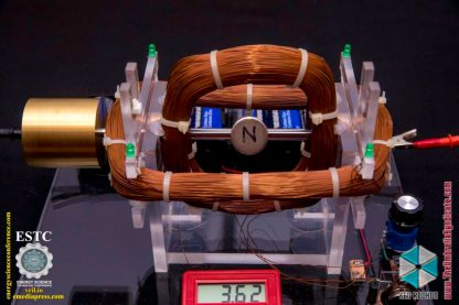 Bedini's Gravity Wave Space Flux Motor 9