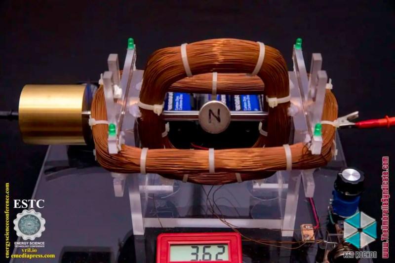 Bedini's Gravity Wave Space Flux Motor 9