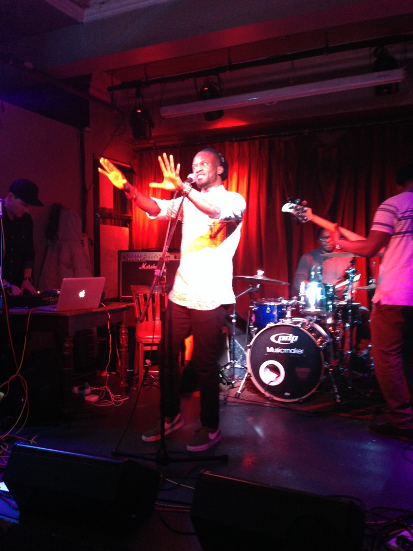 Simi Crowns Hip Hop band launch gig in Dublin - Welcome
