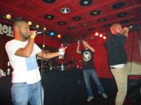hip-hop singing battles: Akne and Juskah (Royalfam)