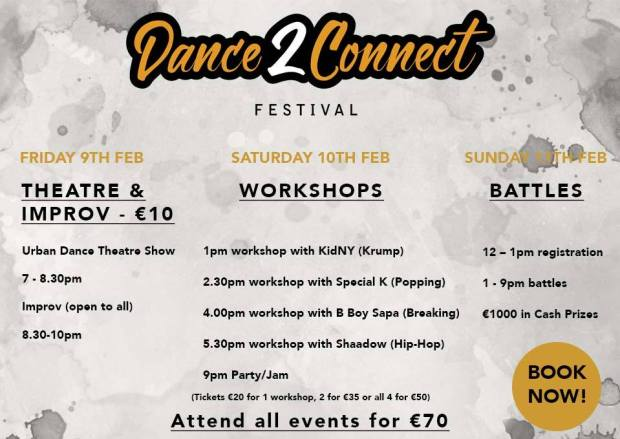 Dance2Connect workshops