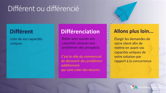 how to differentiate yourself from the competition: different or differentiated