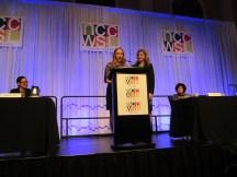 SAC Member Nellie Moran and Amanda Simpson