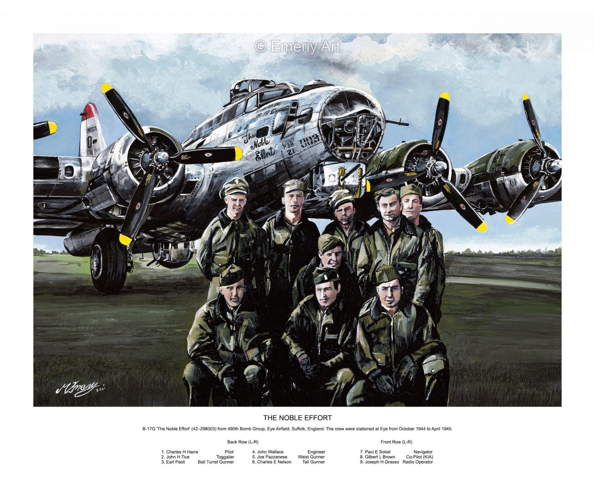 B-17G WWII Bomber.