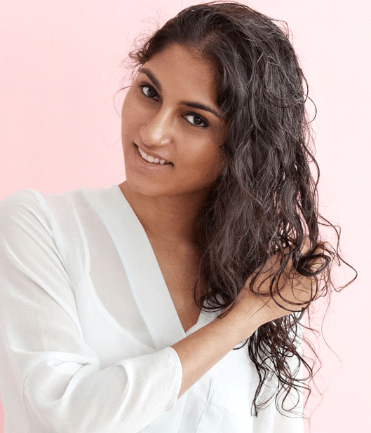 Ways to combat dry and frizzy hair | Air Dry your hair