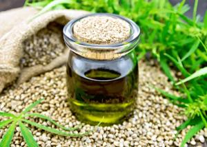 Scalp Health | CBD oil in a bottle