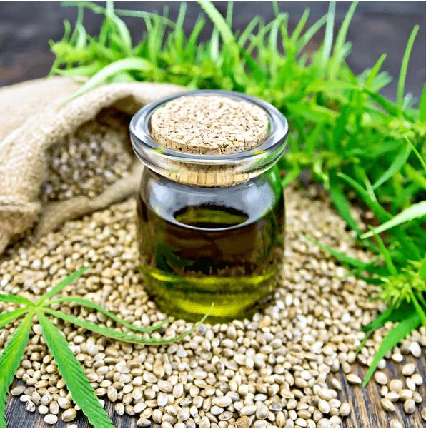 Scalp Health   CBD oil in a bottle