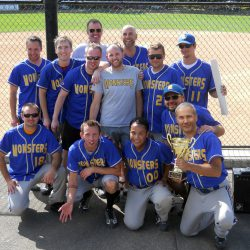 Seattle Monsters with the 2011 Portland Cup Championship Trophy