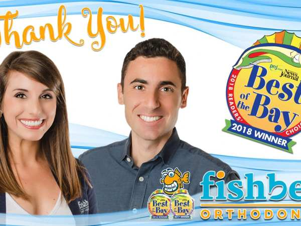 Fishbein Orthodontics Voted 2018 Best of Bay!